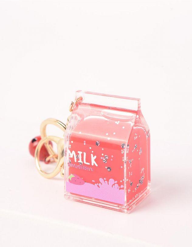 Брелок на сумку у вигляді пака молока | 245458-36-XX - A-SHOP