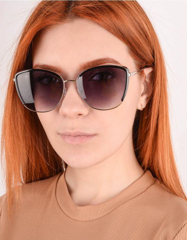 Окуляри сонцезахисні лисички з тонкими дужками | 245335-07-XX - A-SHOP