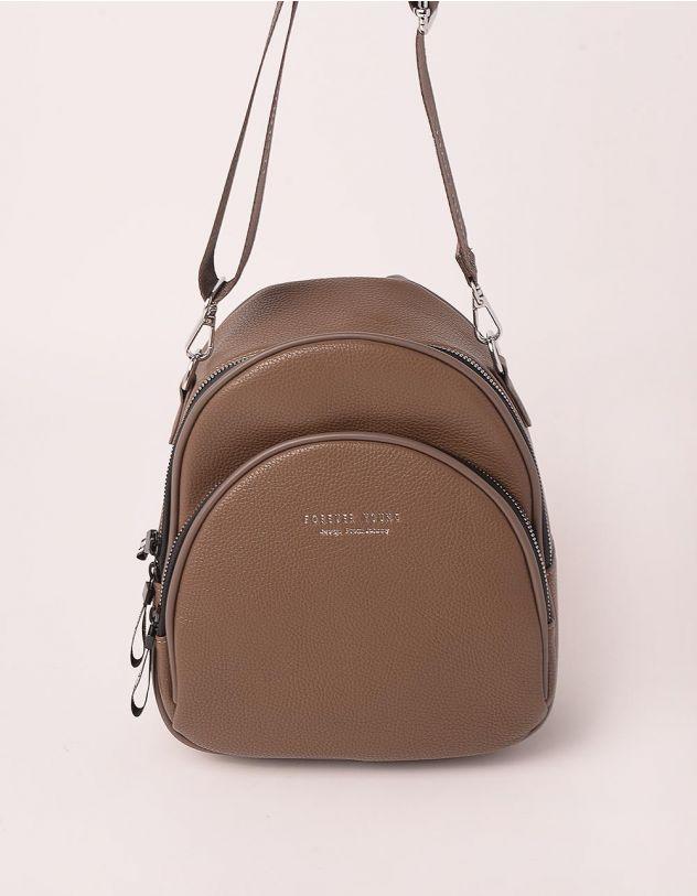 Рюкзак трансформер маленький з кишенею | 238959-53-XX - A-SHOP