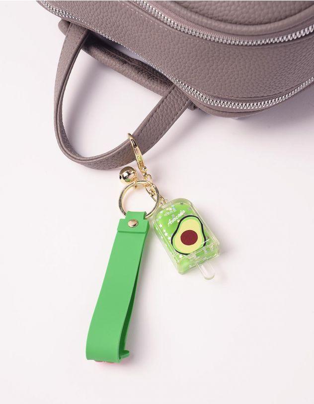 Брелок на сумку  у вигляді морозива з принтом фрукта   242326-20-XX - A-SHOP