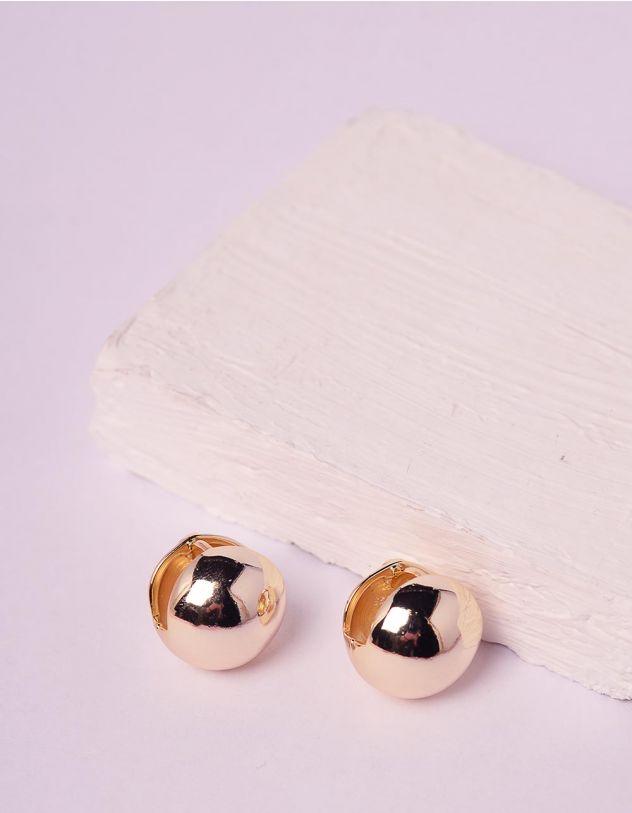 Сережки у вигляді кульок   240838-04-XX - A-SHOP