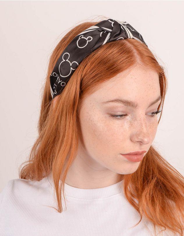 Обідок для волосся з принтом Міккі Мауса   247417-02-XX - A-SHOP