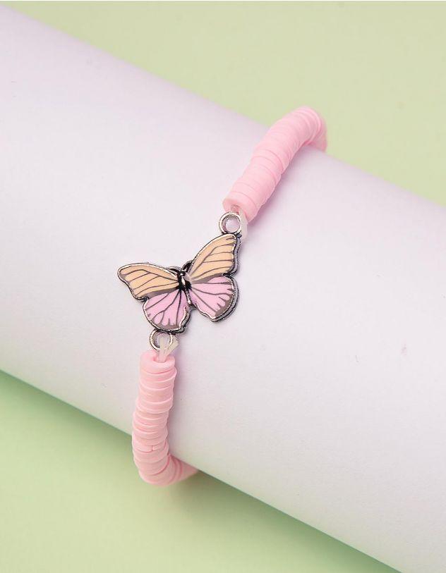 Браслет на руку з метеликом | 244945-14-XX - A-SHOP