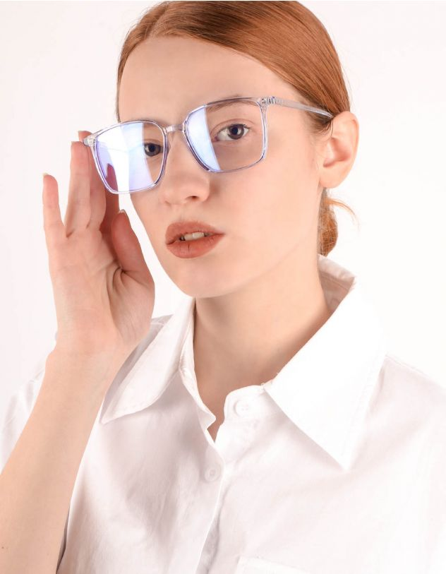 Окуляри іміджеві з прозорими лінзами   245478-03-XX - A-SHOP