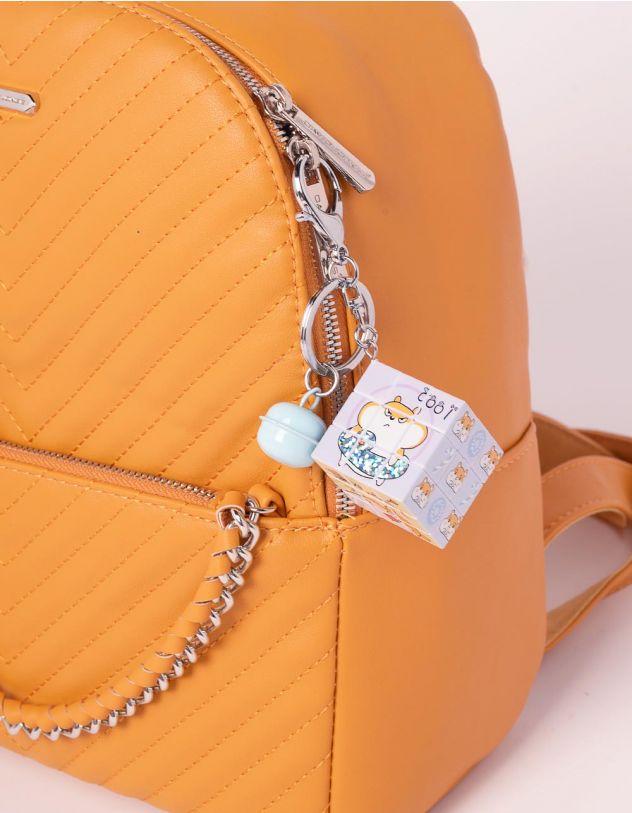 Брелок на сумку кубік рубіка з молодіжними малюнками   239183-21-XX - A-SHOP