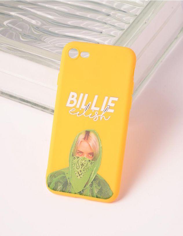 Чохол для телефону з принтом Billie Eilish | 240761-19-56 - A-SHOP