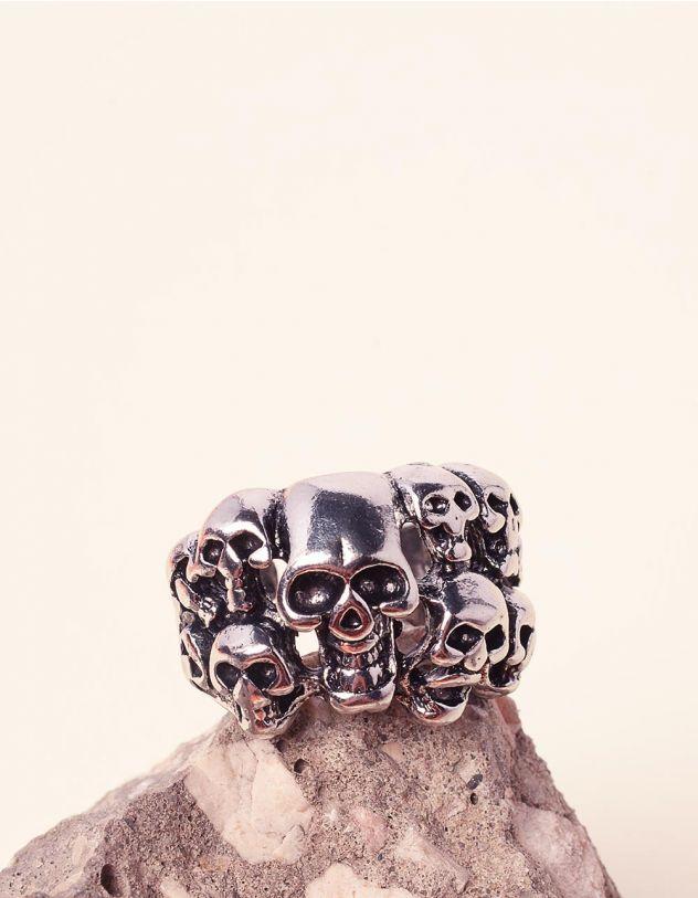 Перстень з черепами   237812-10-XX - A-SHOP