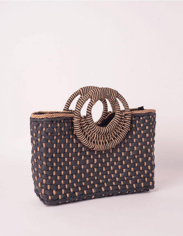 Сумка на літо плетена зі штучної соломи | 239673-28-XX - A-SHOP