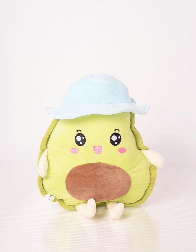 Іграшка м'яка у вигляді авокадо у панамі | 243324-20-XX - A-SHOP