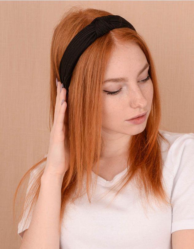 Обідок для волосся у рубчик | 240458-02-XX - A-SHOP