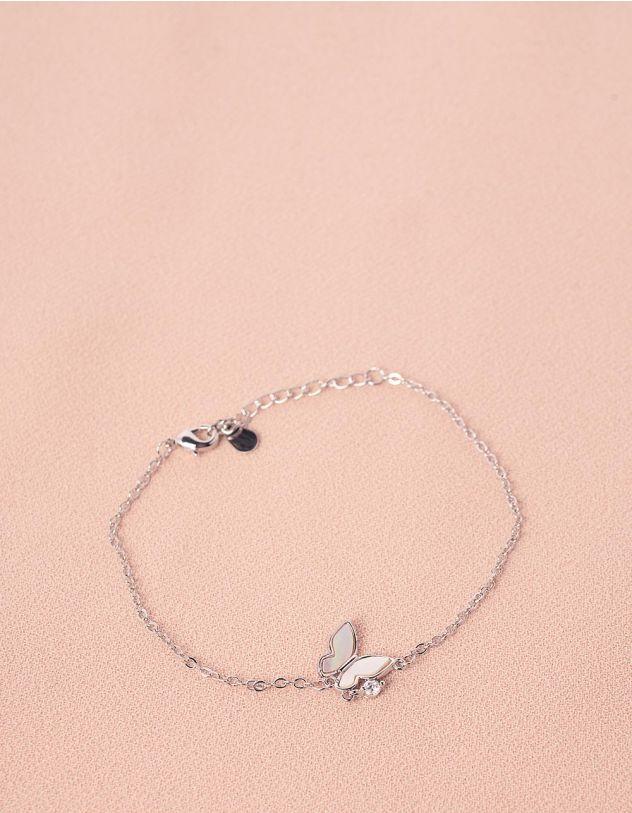 Браслет на руку з кулоном  у вигляді метелика | 244633-06-XX - A-SHOP