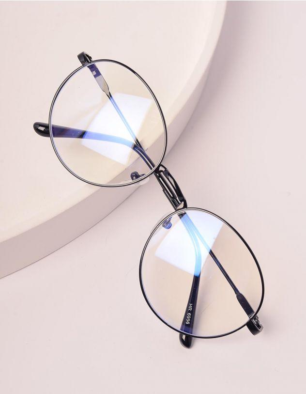 Окуляри іміджеві з прозорими лінзами | 238545-02-XX - A-SHOP