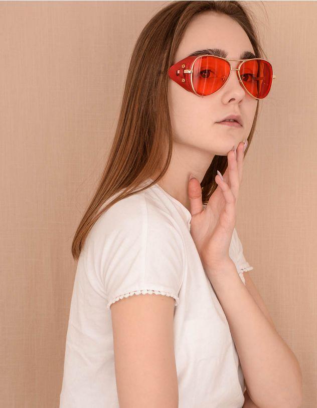 Окуляри сонцезахисні авіатори у стилі стімпанк | 239834-15-XX - A-SHOP
