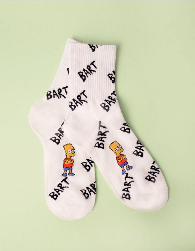 Шкарпетки з принтом Барта Сімпсона | 246745-01-XX - A-SHOP