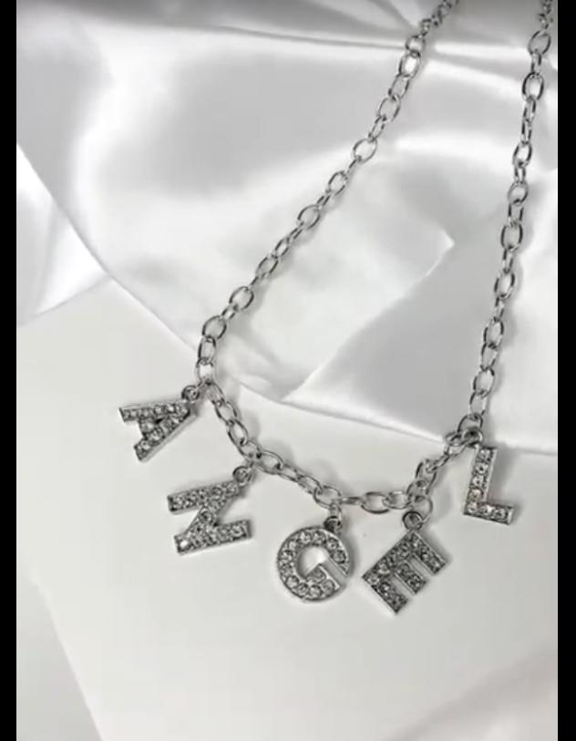 Підвіска на шию з написом ANGEL | 241139-06-XX - A-SHOP